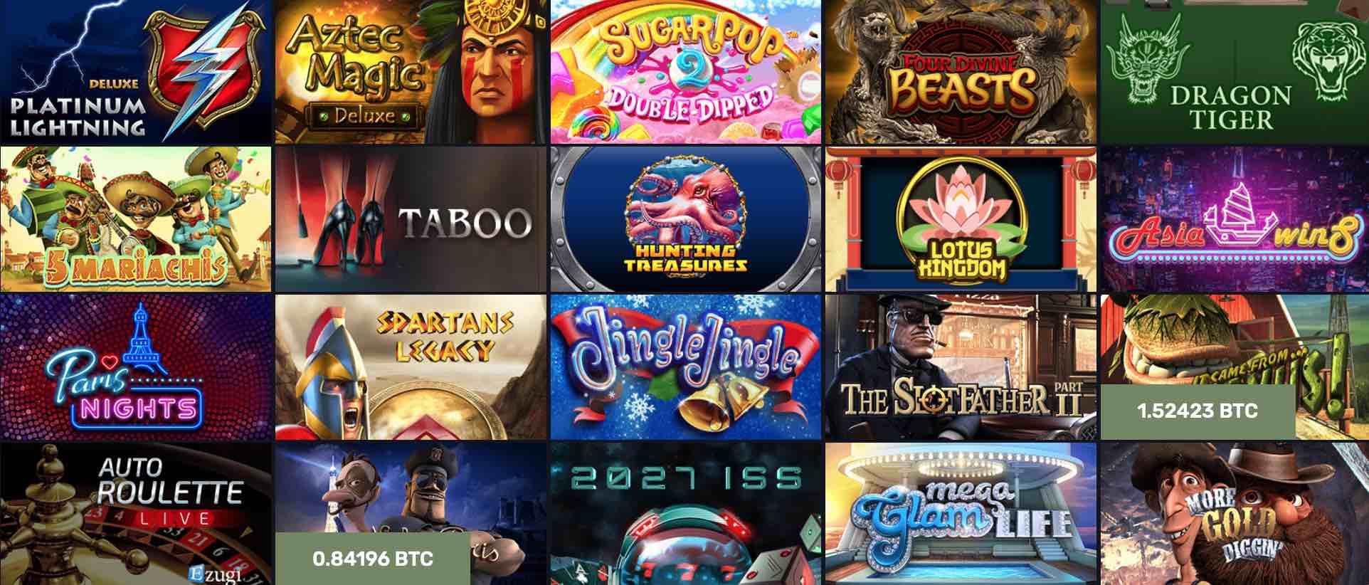 Spielen Sie das bitcoin casino